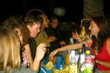 Galerie: Sylvester 2004 life partybarsirkka 20041231 Finca Argayall (La Gomera)