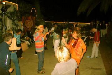 Galerie: Sylvester 2004 life partydancefloor 20041231 Finca Argayall (La Gomera)