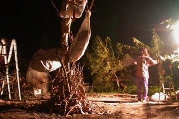 Gallery: Highlights 2004 life burningman 20040322 Finca Argayall (La Gomera)