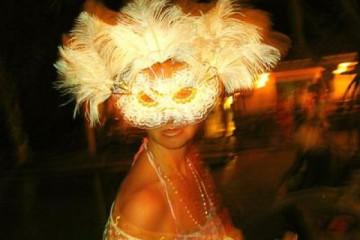 Galerie: Highlights 2004 life fullmoonrishimask 20040703 Finca Argayall (La Gomera)