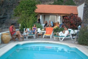 Galerie: Highlights 2004 life poolpartyretreat02 20040629 Finca Argayall (La Gomera)