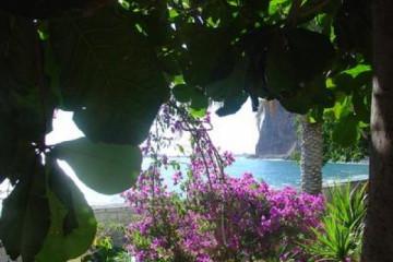 Galerie: Die besten Aussichten 2004 ocean bougaivillea 20040825 Finca Argayall (La Gomera)