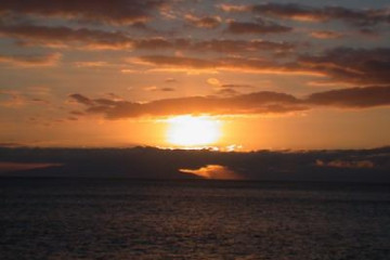 The best views 2004 ocean dramaticsunset02 20031225 Finca Argayall (La Gomera)