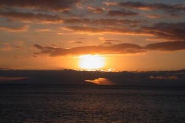 Galerie: Die besten Aussichten 2004 ocean dramaticsunset02 20031225 Finca Argayall (La Gomera)