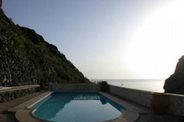 Galerie: Die besten Aussichten 2004 ocean eveningviewfromapartments 20040325 Finca Argayall (La Gomera)