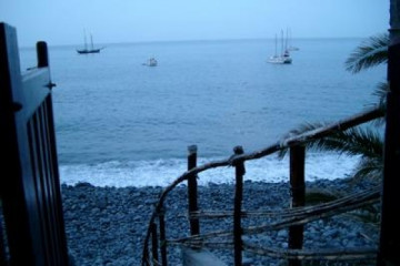 The best views 2004 ocean stairwaytoocean 20040212 Finca Argayall (La Gomera)