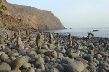 Galerie: Die besten Aussichten 2004 ocean stonemen 20040825 Finca Argayall (La Gomera)