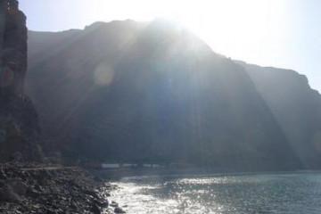 The best views 2004 ocean sunrays 20040820.jpg Finca Argayall (La Gomera)