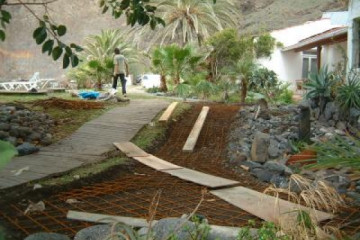Galerie: Fincawege 2005/06 Nov. Jan. o6 061 Finca Argayall (La Gomera)
