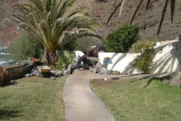 Galerie: Fincawege 2005/06 Nov. Jan. o6 074 Finca Argayall (La Gomera)