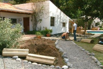 Galerie: Projekte 2003-2004 projects frontarea 20030314 path01 Finca Argayall (La Gomera)