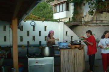 Galerie: Projekte 2003-2004 projects kitchenrenoavation04 20040625 Finca Argayall (La Gomera)