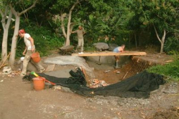 Galerie: Projekte 2003-2004 projects pond00 20040325 Finca Argayall (La Gomera)