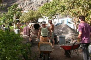 Galerie: Projekte 2003-2004 projects pond04 20040405 Finca Argayall (La Gomera)