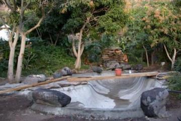 Galerie: Projekte 2003-2004 projects pond05 20040404 Finca Argayall (La Gomera)