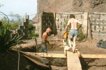 Galerie: Projekte 2003-2004 projects sessionhut05 20040210 Finca Argayall (La Gomera)