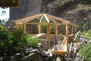 Galerie: Projekte 2003-2004 projects sessionhut10 20040326 Finca Argayall (La Gomera)