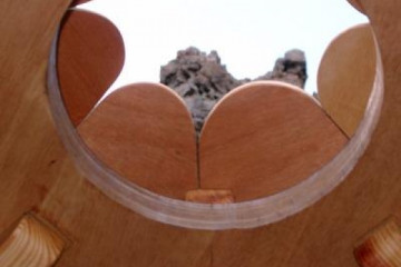 Galerie: Projekte 2003-2004 projects sessionhut12 20040326 Finca Argayall (La Gomera)