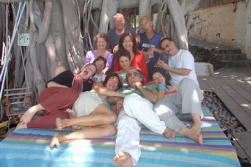 Gallery: Excrew and friends 2004 adios friends massagegroup2 Finca Argayall (La Gomera)