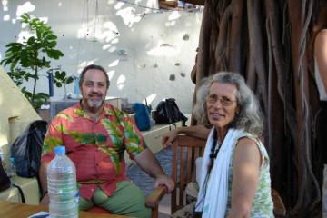 Galerie: Mamta wird 46 bday mamta 46 0008 Finca Argayall (La Gomera)