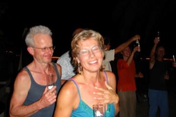 Galerie: Ruth feiert den 49igsten bday ruth 2007 0001 Finca Argayall (La Gomera)