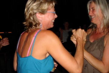 Galerie: Ruth feiert den 49igsten bday ruth 2007 0003 Finca Argayall (La Gomera)