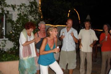 Galerie: Ruth feiert den 49igsten bday ruth 2007 0004 Finca Argayall (La Gomera)