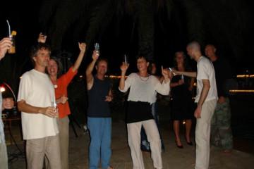 Galerie: Ruth feiert den 49igsten bday ruth 2007 0006 Finca Argayall (La Gomera)