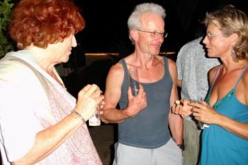 Galerie: Ruth feiert den 49igsten bday ruth 2007 0015 Finca Argayall (La Gomera)